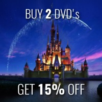 Buy 2 Disney DVDs and Save 15%