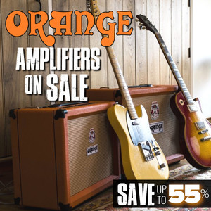 Orange Amplifiers on Sale - Save Up To 55%