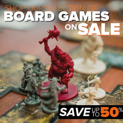 Massive Board Game Sale! Save Up To 50%