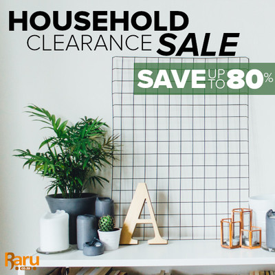 Household Clearance Sale - Up To 80% Off