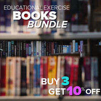 Buy 3 Educational Exercise Books and Save 10%