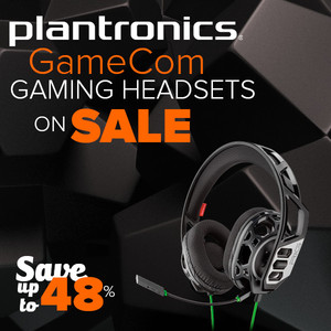 Plantronics GameCom Gaming Headsets on Sale - Save Up To 48%