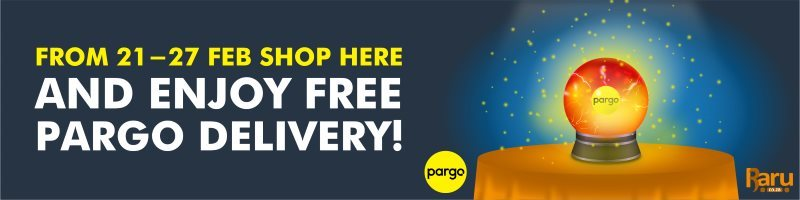 FREE Pargo Delivery! - No Minimum Spend Requirement - From 21 February to 27 February 2019