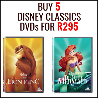 Buy 3 Blu-rays for R99