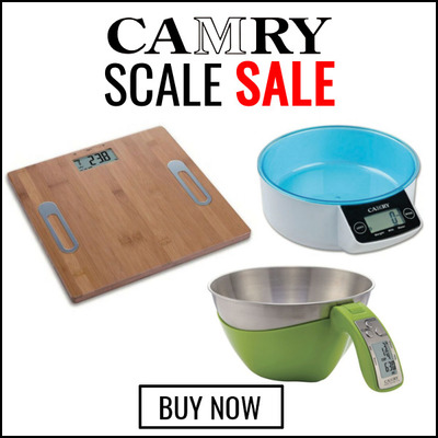 Camry Scale Sale - 20% Off