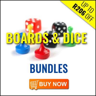 Boards & Dice Bundles - Save Up To R206