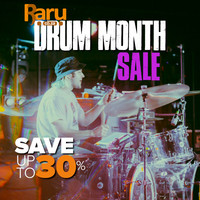 Raru Drum Month Sale - Save Up To 30%