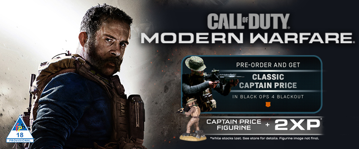 Pre-Order Call of Duty: Modern Warfare (PS4/Xbox One)