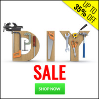 DIY Sale - Up To 35% Off
