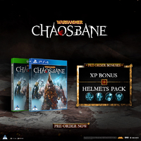 Warhammer: Chaosbane (PS4/Xbox One) Standard & Magnus Edition (Raru Exclusive) on Pre-Order. Due 31 May & 4 June 2019.