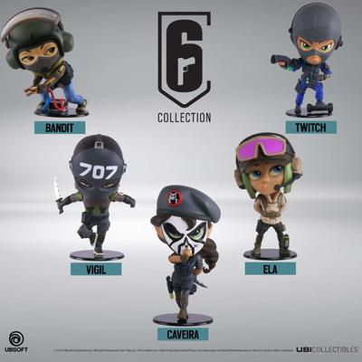 NEW UBIcollectibles Six Collection Vinyl Figurines on Pre-Order. Due 24 May 2019.