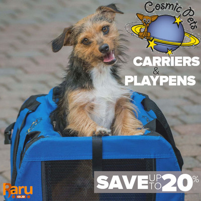 20% Off On Cosmic Pets Playpens & Carriers