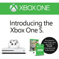 Microsoft - Xbox One S 500GB White Console (Includes FREE copy of FIFA 17 & 3 Months Live) Released