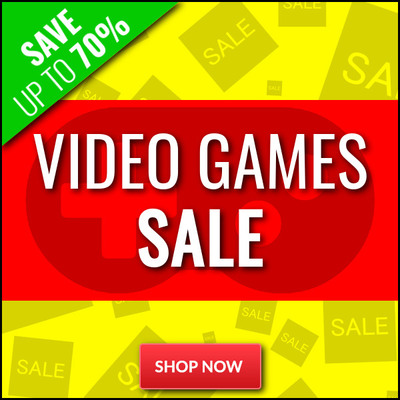 Games Clearance Sale - Save Up To 70% - Stocks Very Limited