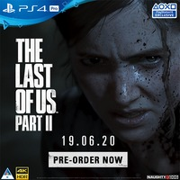 The Last of Us Part II (PS4) on Pre-Order. Due 19 June 2020.