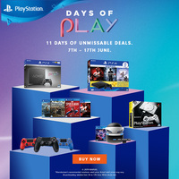 Sony PlayStation Days of Play 7-17th June 2019