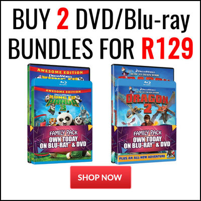 Buy 2 DVD/Blu-ray Bundles for R129