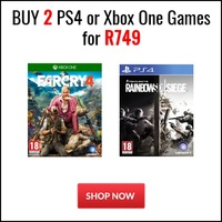 Buy 2 PS4 or Xbox One Games for R749