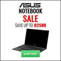 ASUS Notebook Sale - Save Up to R2500!