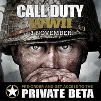 Pre-order Call of Duty: World War 2 for PlayStation 4 or Xbox One to secure a BETA Access Code