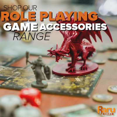 Add To Your RPGs With Our Range Of Role Playing Accessories