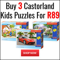 Buy 3 Castorland Kids Puzzles for R89
