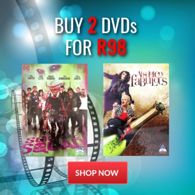 Buy 2 DVD's for R98