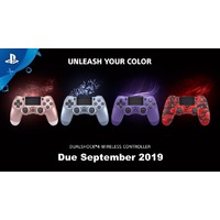 New Sony DUALSHOCK 4 Wireless Controller V2 Limited Edition Colours. Due 30 September.