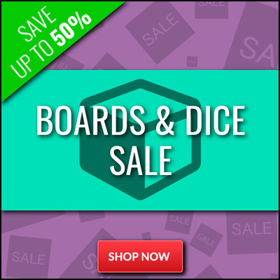 Boards & Dice Clearance Sale - Up To 50% Off