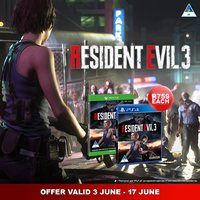 Resident Evil 3 Now on Sale