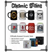 Featured - Officially licensed Ceramic Steins