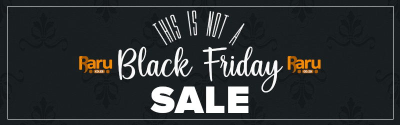 This is not a Black Friday sale