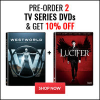 Pre-Order 2 TV Series DVDs and Get 10% Off