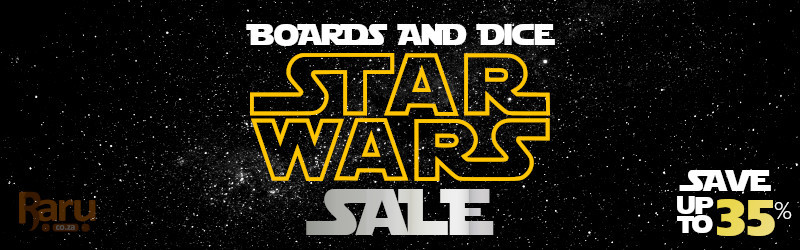 Star Wars Boards & Dice Game Sale - Save Up To 35%