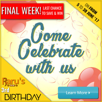 Raru's 3rd Birthday - Come Celebrate With Us - Last Week!