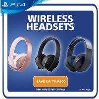 Official Sony PlayStation 4 Headset Promotion - Ends 2 March 2020