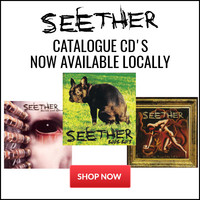 Seether Back Catalogue Now Available Locally