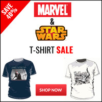 Star Wars & Marvel T-Shirt Sale - Save 40%