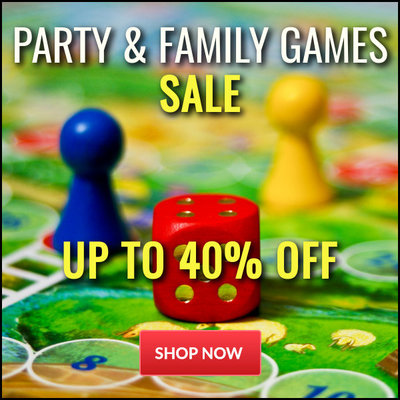 Up To 40% Off Party & Family Games