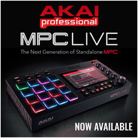 Akai MPC Live Sampler Now Available - Buy Now and Save R4000