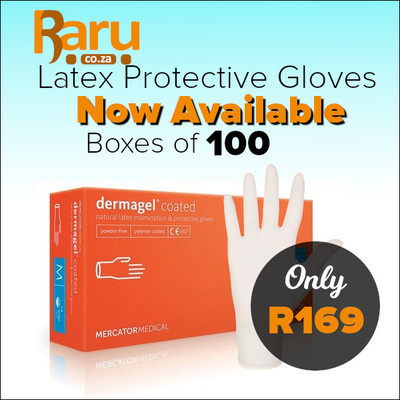 DermaGEL 100 Latex Protective Glove Pack Was R199 Now R169