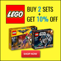 LEGO® - Buy Any 2 and Get 10% Off