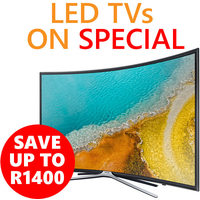 Save Up To R1400 On LED TVs