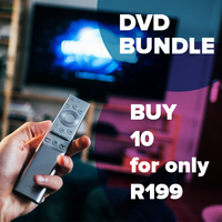Hot Bundle Deal: Buy 10 DVD's for R199. 1000+ Titles To Choose From.