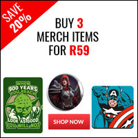 Buy 3 Merch Items For R59 - Save 20%