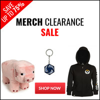 Merch Clearance Sale - Save Up To 75%