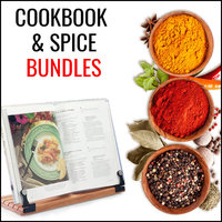 Cookbook & Spices Bundles Save up to 40%