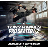 Tony Hawk's Pro Skater 1 + 2 (PS4/Xbox One) Standard & Collector's Edition (PS4) on Pre-Order. Due 4 September 2020.
