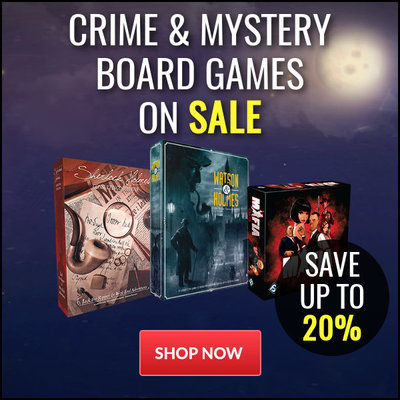 Crime & Mystery Board Games on Sale - Save Up To 20%