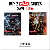 Buy 2 D&D Guides and Save 10%